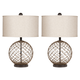 Emma Mason Signature Hudson Yards Glass Table Lamp (Set of 2) E786-L