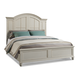 Klaussner Sea Breeze Island Bliss California King Panel Bed in White 425-060