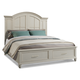Klaussner Sea Breeze Island Bliss Queen Panel Storage Bed in White 425-150