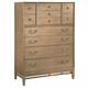 Hekman Avery Park Drawer Chest in Light Brown 951561AV