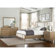 Hekman Avery Park 4-Piece Panel Bedroom Set in Light Brown