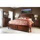 Klaussner Blue Ridge 4-Piece Sleigh Bedroom Set in Cherry