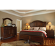 Klaussner Blue Ridge 4-Piece Panel Bedroom Set in Cherry