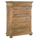 Hekman Wellington Hall Drawer Chest in Burnished Brown 2-3361