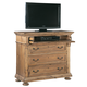 Hekman Wellington Hall Media Chest in Burnished Brown 2-3362