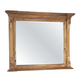 Hekman Wellington Hall Landscape Mirror in Burnished Brown 2-3367