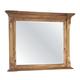 Hekman Wellington Hall Landscape Mirror in Burnished Brown 2-3367