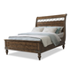 Klaussner Southern Pines Whispering Pines California King Sleigh Bed in Pine Ridge 436-260