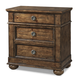 Klaussner Southern Pines 3 Drawer Nightstand in Pine Ridge 436-670