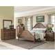 Klaussner Southern Pines 4-Piece Poster Bedroom Set in Pine Ridge