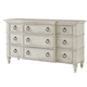 Lexington Oyster Bay Barrett Triple Dresser in Distressed 714-233