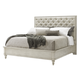 Lexington Oyster Bay Queen Sag Harbor Tufted Upholstered Bed in Distressed 714-133C