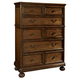 Hekman Vintage European Drawer Chest in Vintage Brown 2-3263