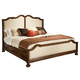 Hekman Vintage European Upholstered King Bed in Vintage Brown 2-3269