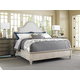 Lexington Oyster Bay 4-Piece Arbor Hills Upholstered Bedroom Set in Distressed