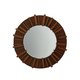 Tommy Bahama Home Island Fusion Kobe Round Mirror in Dark Walnut 556-201