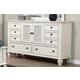 New Classic Whitaker Dresser in Antique White B5034-050