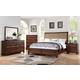 New Classic Furniture Remington 4-Piece Panel Bedroom Set in Distressed Gunstock