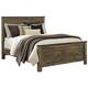 Trinell King Panel Bed in Warm Rustic Oak B446-KING
