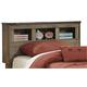 Trinell Twin Bookcase Headboard in Warm Rustic Oak B446-63