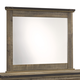 Trinell Bedroom Mirror in Warm Rustic Oak B446-26