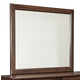 Corraya Bedroom Mirror in Medium Brown B428-36 CLEARANCE