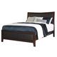 Dirmack King Upholstered Panel Bed in Medium Brown B470-KING