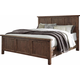 Tamilo King Panel Bed in Grayish Brown B714-KING