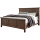 Tamilo California King Panel Bed in Grayish Brown B714-CKING