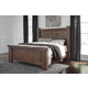 Tamilo Queen Poster Bed in Grayish Brown B714P-QUEEN