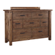 Tamilo 7 Drawer Dresser in Grayish Brown B714-31