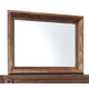 Tamilo Bedroom Mirror in Grayish Brown B714-36