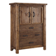 Tamilo Door Chest in Grayish Brown B714-48