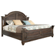 Hekman Homestead Louvered Queen Bed in Molasses 12265ML