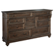 Hekman Homestead Drawer Dresser in Molasses 12260ML