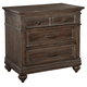 Hekman Homestead 3-Drawer Nightstand in Molasses 12263ML