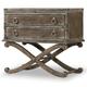Hooker Furniture True Vintage Two-Drawer Nightstand in Light Wood 5701-90116