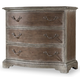 Hooker Furniture True Vintage Three-Drawer Bachelors Chest in Light Wood 5701-90017