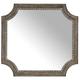 Hooker Furniture True Vintage Shaped Mirror in Light Wood 5701-90008