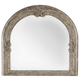 Hooker Furniture True Vintage Arched Mirror in Light Wood 5701-90004