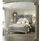 Hooker Furniture True Vintage 4-Piece Upholstered Panel Bedroom Set in Light Wood