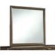 Debeaux Bedroom Mirror in Medium Brown B535-36