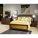 Strenton Full Panel Bed in Brown B568-FULL