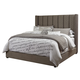 Kasidon Queen Upholstered Bed in Gray