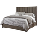 Kasidon King Upholstered Bed in Gray