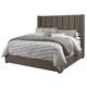 Kasidon California King Upholstered Bed in Gray