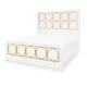 Legacy Classic Tower Suite California King Metal Panel Bed in Pearl 5010-4407K