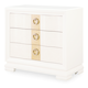 Legacy Classic Tower Suite 3 Drawer Bedside Chest in Pearl 5010-3200 PROMO