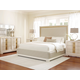 Legacy Classic Tower Suite 4-Piece Upholstered Bedroom Set in Pearl
