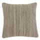 Woven Pillow Cover in Light Brown A1000332 (Set of 4)